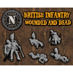 British infantry wounded...